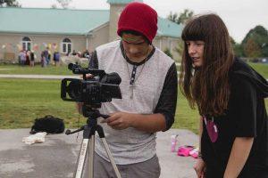 Film at centauri arts camp
