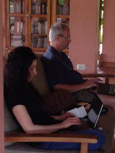 Writing at Centauri Arts Writing Retreat